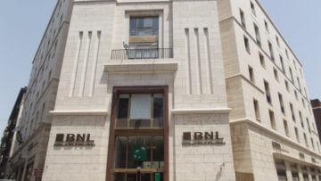 Edificio BNL visto da fuori